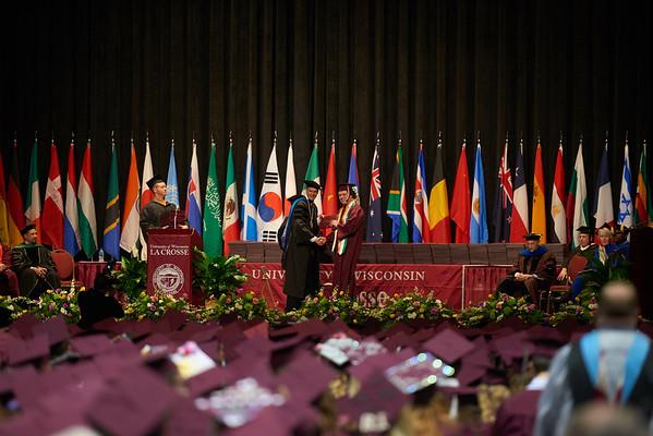 2019 UWL Spring Commencement Graduation 0007