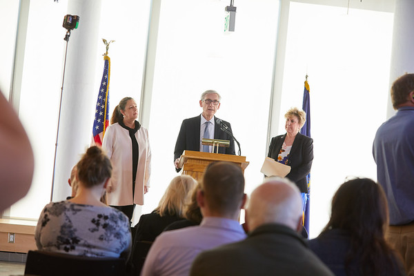 2019 UWL Spring Tony Evers PSSC Building Commission 0032