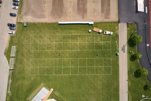 2019 UWL WIAA State Track Roger Harring Field Facilities Drone 0068