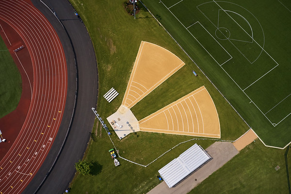 2019 UWL WIAA State Track Roger Harring Field Facilities Drone 0073