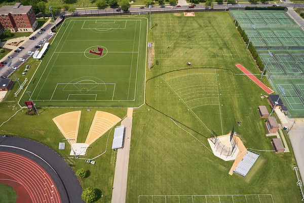 2019 UWL WIAA State Track Roger Harring Field Facilities Drone 0064