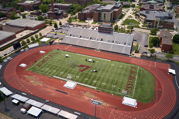 2019 UWL WIAA State Track Roger Harring Field Facilities Drone 0070