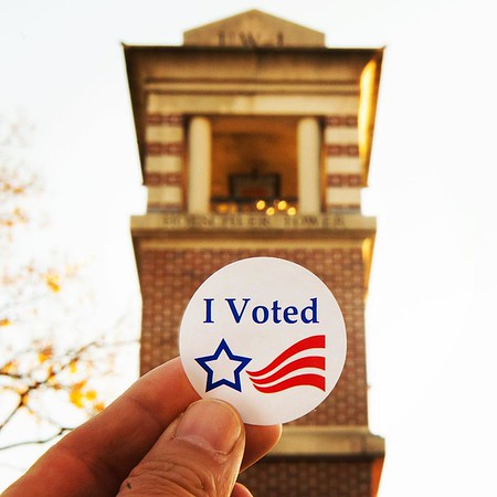 2015 Fall Voting Sticker