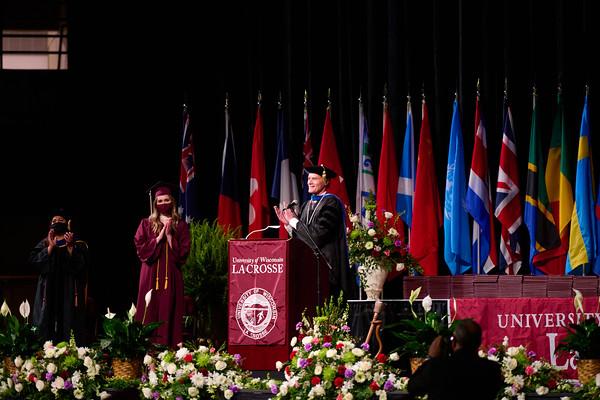 2021 UWL Commencement Graduation La Crosse Center 0070
