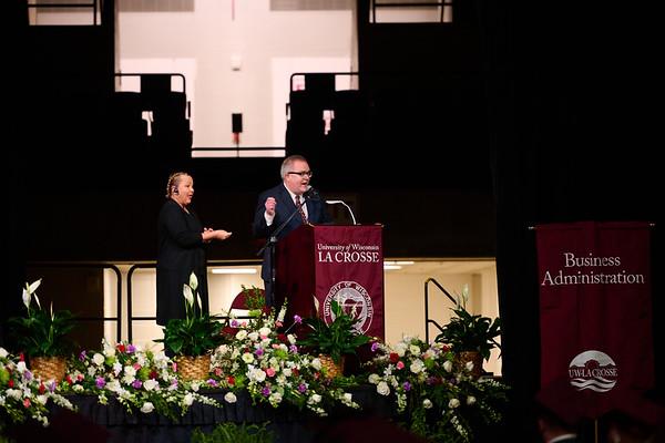 2021 UWL Commencement Graduation La Crosse Center 0061
