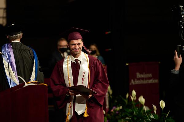 2021 UWL Commencement Graduation La Crosse Center 0116