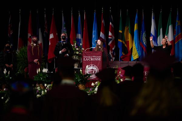 2021 UWL Commencement Graduation La Crosse Center 0083
