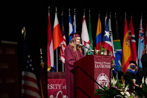 2021 UWL Commencement Graduation La Crosse Center 0096