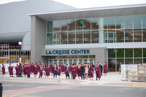 2021 UWL Commencement Graduation La Crosse Center 0175