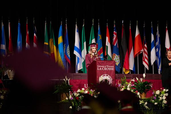 2021 UWL Commencement Graduation La Crosse Center 0102