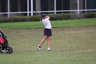 March 1, 2021; Saint Leo, FL, University of Tampa Women's Golf at Saint Leo tournament played at Lake Jovita.