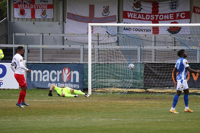 1m gone and it's in the net