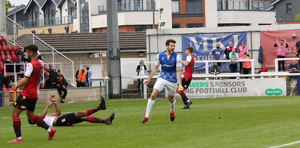 Charlee Hughes 1st goal for Stones - 1-1