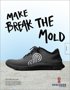 "Jasmyne Schierbaum (faculty: Lydia VanHoven-Cook) - ""Make the Mold - Skechers"" (Single Ad)"