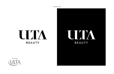 "Caitlyn Straley (faculty: John Koziatek) - ""Ulta Beauty Logo Redesign"" (Logo Design)"