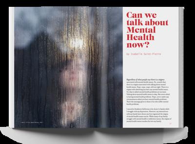 "Jasmyne Schierbaum (faculty: Suzanne Jonkman) - ""Thinktank"" (Magazine Design)"