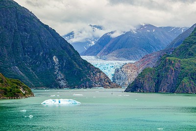 DA054,DT,Approaching the Glacier,Tracy Arm Fjord, Alaska