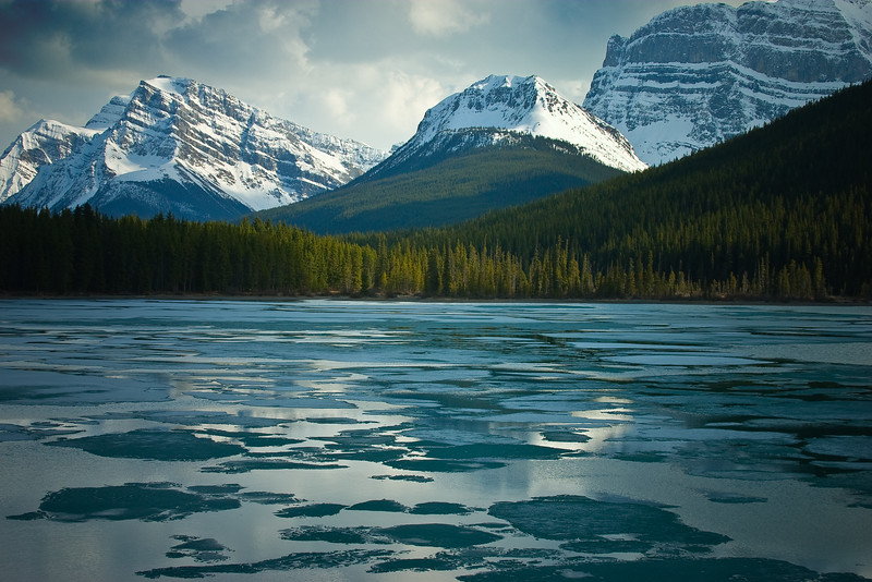 Waterfowl Lake, Banff