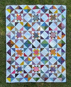 Delta Star pattern - pieced by John Putnam