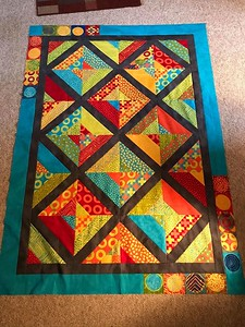Deb Feldpausch pieced this Hope Quilt