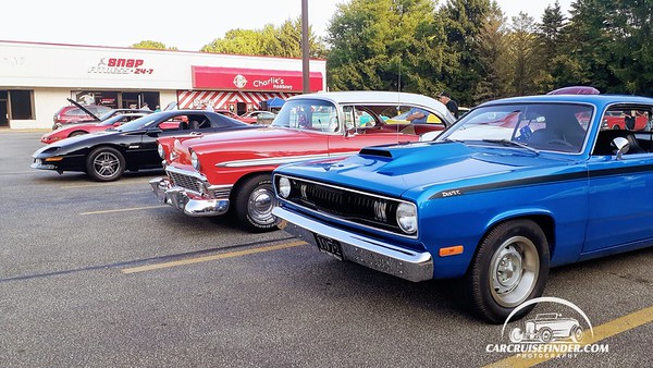 Charlies Pub Tuesday Night Cruise Edinboro PA 8/11/2020