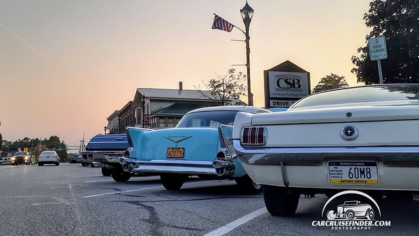 Small Town Cruise In Girard PA 9-24-2020