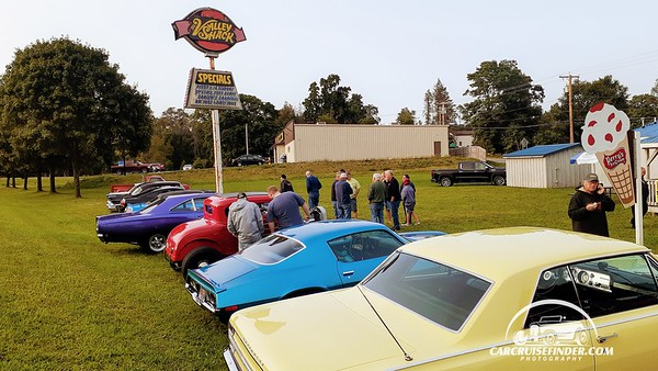Valley Shack Cruise In, Sinclairville NY 9-14-2020
