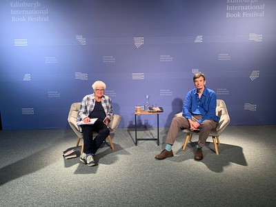 Ian Rankin in conversation with Ruth Wishart at the 2020 Edinburgh International Book Festival Online
