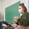Associate Professor Victoria Furby's MUS 313 Chamber Choir class at SUNY Buffalo State College.