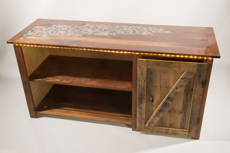 Wood Design student project by Andrew Peek at SUNY Buffalo State College.