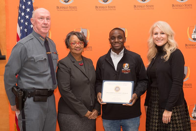 University Police awards ceremony at SUNY Buffalo State College.