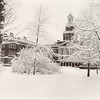 1923 photo of the Old Normal School in winter for 150th anniversary celebration at SUNY Buffalo State College.