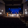 """""""It's a Wonderful World"""" recording session for the holiday video card at SUNY Buffalo State College."""