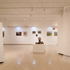 Alumni art show in the Czurles-Nelson Gallery at SUNY Buffalo State College.