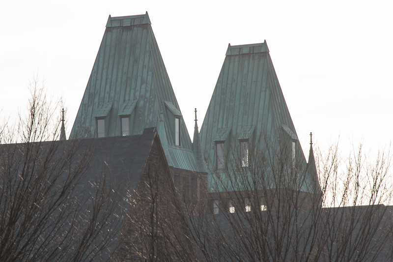 Richardson Complex towers in near SUNY Buffalo State College.