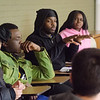 Student organizations discuss Africana Studies  at SUNY Buffalo State.