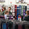 """Career Development Center/JC Penney """"Suit Up"""" event held for students at SUNY Buffalo State College."""