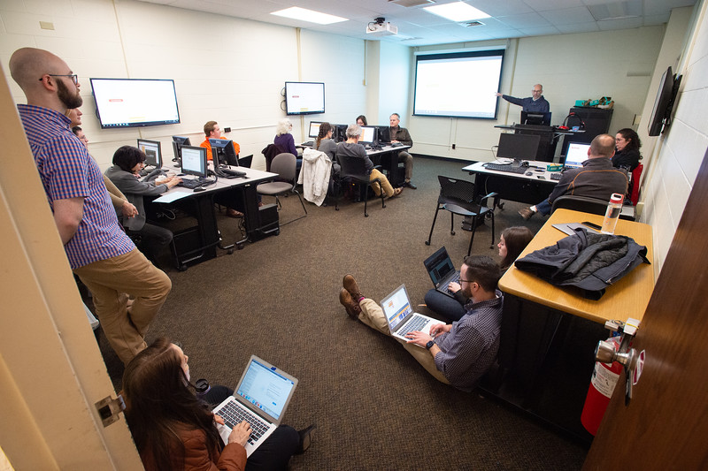 Instructional Design training for faculty at SUNY Buffalo State College.