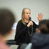 Award-winning educator, Wendy Turner leading a professional development workshop on Strategies for Fostering Resilience held at SUNY Buffalo State College.
