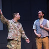 "Student theater production of ""Othello"" at SUNY Buffalo State College."