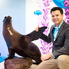 Aquarium of Niagara Executive Director and SUNY Buffalo State College alumnus Gary Siddall at the Aquarium of Niagara.