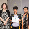 Inaugural Delta Alpha Pi honors society induction at SUNY Buffalo State College.
