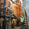 Replacing boilers at the Central Heating Plant at SUNY Buffalo State College.