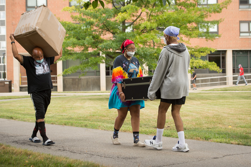 Move-In Day at SUNY Buffalo State College.