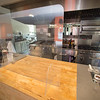 Health and safety precautions in the Hospitality and Tourism teaching kitchen at SUNY Buffalo State College.
