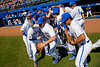 Florida Gators Baseball Brady Smith (9) and the Gators take the field as the #1 Gators finish off the sweep of the Troy Trojans with a 7-1 win at McKethan Stadium in Gainesville, Florida on March 1st, 2020 (Photo by David Bowie/Gatorcountry)