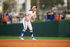 Florida Gators softball infielder Hannah Adams as the Gators hosted Team USA at Katie Seashole Pressly Stadium Gainesville, Florida on February 11th, 2020 (Photo by David Bowie/Gatorcountry)