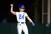 Florida Gators softball outfielder E.C. Taylor as the Gators hosted Team USA at Katie Seashole Pressly Stadium in Gainesville, Florida on February 11th, 2020 (Photo by David Bowie/Gatorcountry)
