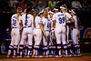 The Florida Gators softball team gathers together as the Gators hosted Team USA at Katie Seashole Pressly Stadium in Gainesville, Florida on February 11th, 2020 (Photo by David Bowie/Gatorcountry)