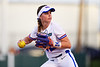 Florida Gators softball infielder Sarah Longley as the Gators hosted Team USA at Katie Seashole Pressly Stadium Gainesville, Florida on February 11th, 2020 (Photo by David Bowie/Gatorcountry)